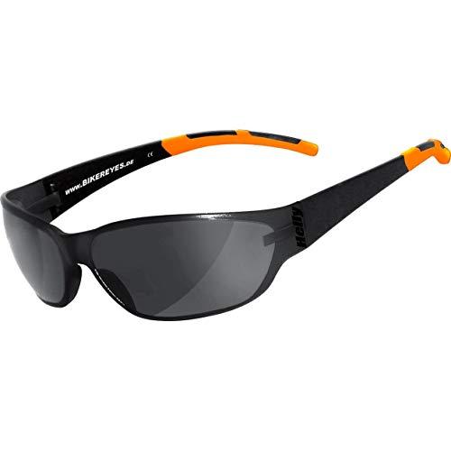 HELLY® - No.1 Bikereyes® | Bikerbrille, Motorrad Sonnenbrille, Motorradbrille | beschlagfrei, winddicht, bruchsicher | TOP Tragegefühl | Brille: airshade