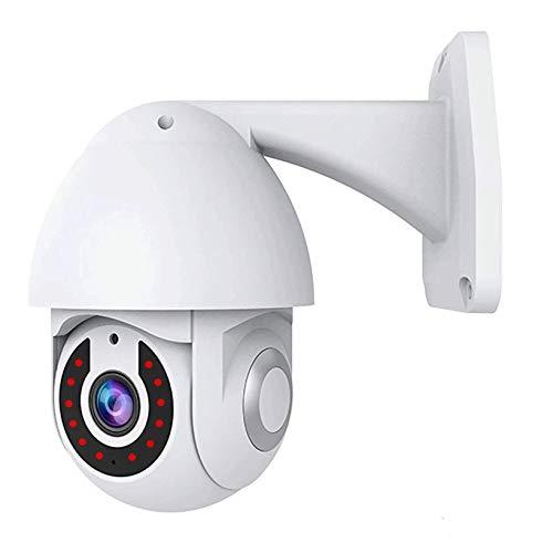 Cámara WiFi, Cámara IP PTZ Inalámbrica 1080P HD 2MP, Visión Nocturna por Infrarrojos, Detección De Movimiento, Vigilancia De Seguridad para El Hogar Al Aire Libre(Size:Camera+32G)