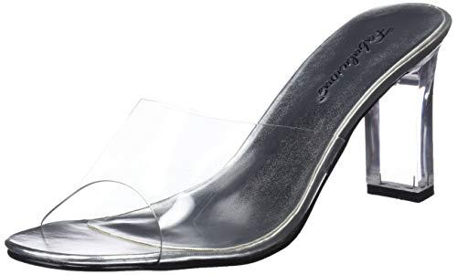 Pleaser Rom301/c, Sandales Femme - Transparent (clear), 44EU-11 UK