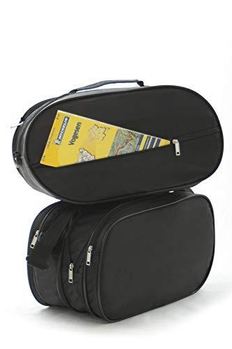 Passgenau Motorrad Kofferinnentaschen 1 Paar für Honda Deauville NT 650 V und 700