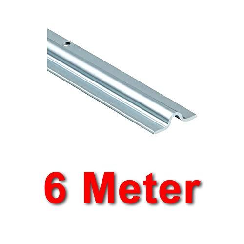 BAUER - Schiene VZ Aufschrauben 16mm, Länge 6m