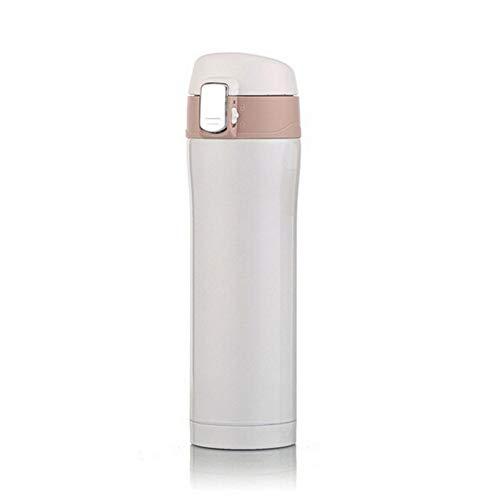 BDBWHB Isolations Topf Kaffeekannen Thermosflasche Geschenk Vakuumflasche Reisebecher Büro Kaffee Milch Tee Tasse Wasser Tasse Edelstahl Tasse Männlich Butler Wärmflasche 450 Ml