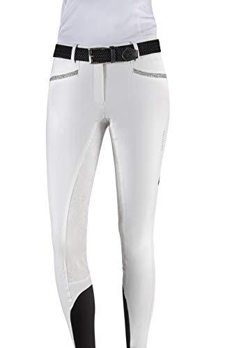 Equiline Damen Reithose Gladis Größe 40, Farbe weiß