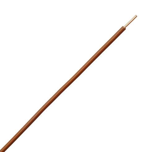 Kopp 154425003 Aderleitung H07 VU, 1 x 1.5 mm², 25 m, braun