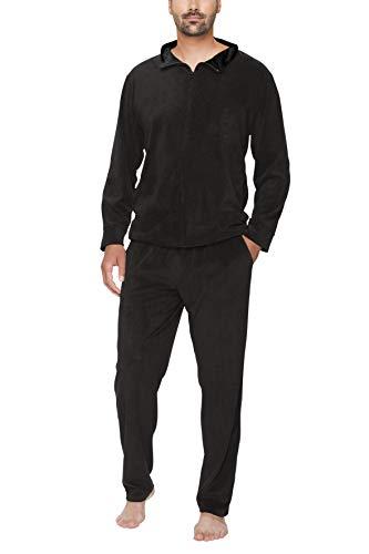 SLOUCHER Nicki-Anzug für Herren, Farbe:anthrazit, Größe:XL
