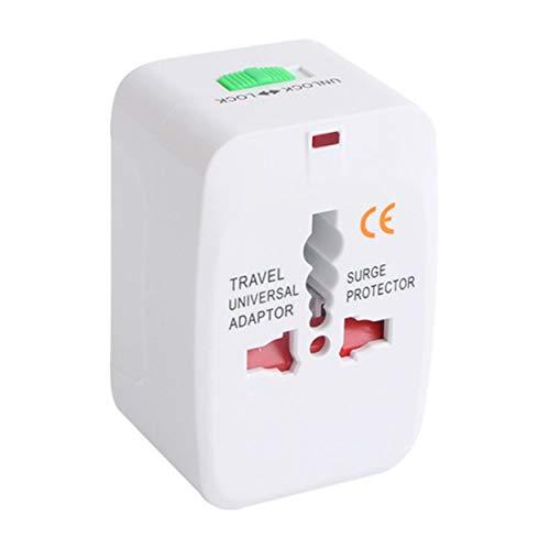 Lodenlli Adaptador de Enchufe eléctrico Adaptador de Viaje Internacional Enchufe de Viaje Universal Convertidor de Cargador de energía USB