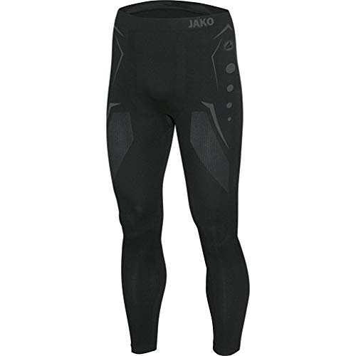 Jako Herren Long Tight Comfort , Schwarz (08 Black) , L
