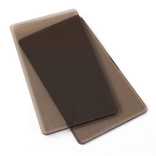 Sizzix Accesorio, Almohadillas de corte 1 par (gris ahumado), Multicolor, Única
