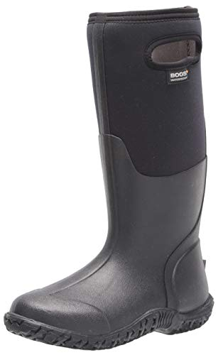 BOGS Women's Mesa Rainboot Rain Boot, Black, 9