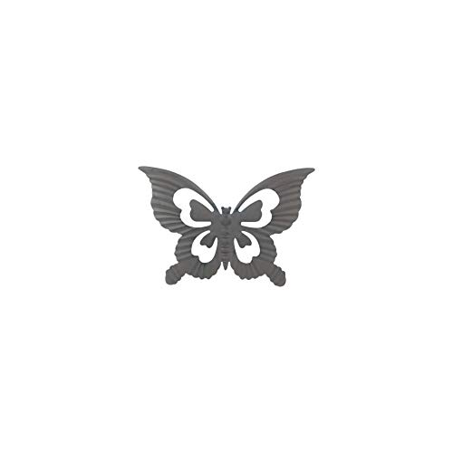 Art Deco Home - Adorno Pared Hierro Mariposa 30 cm - 16145SG
