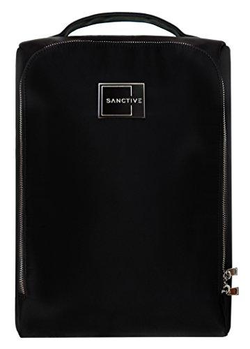 Sanctive SANCTIVE® Schuhtasche Reise - Premium Herren Business Schuhbeutel: Wasserdicht und robust - Für 1 Paar Schuhe, schwarz