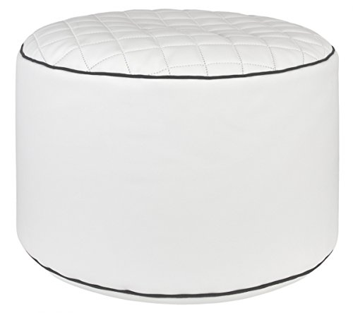 Magma - Pouf Point, Modello Modo Tap DOT.Com, Colore: Bianco