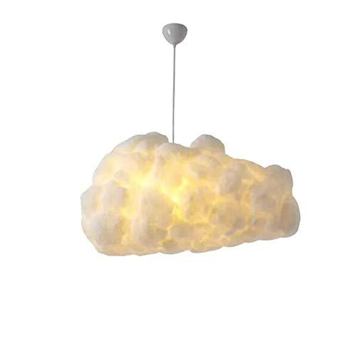 Moderno Lampada a sospensione con paralume a forma di nuvola, Lampadario creativo moderno a 1 luci Lampada a sospensione a forma di bambino. Lampada a sospensione per soggiorno. Piccolo corridoio