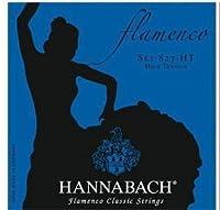 HANNABACH/クラシックギター弦 Flamenco/SET827【ハナバッハ】青 HT ハイテンション