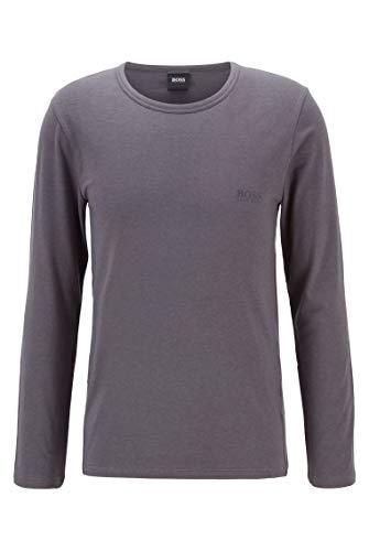 BOSS Herren LS RN Infinity T-Shirt, Medium Grey33, L