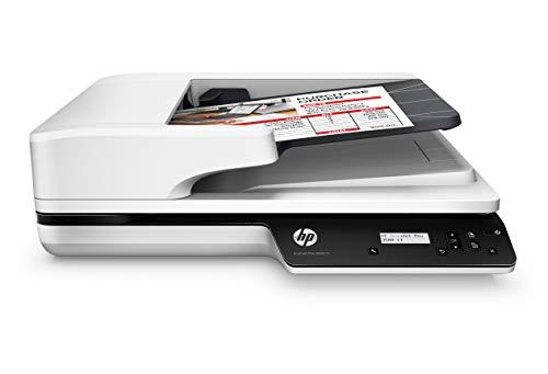 HP Scanjet Pro 3500 F1 (L2741A), Scanner a Doppia Scansione, Professionale per Documenti e Immagini, Compatto e Pratico, Bianco