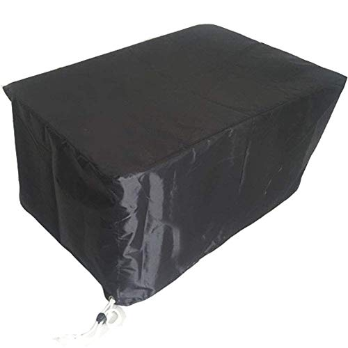 LCA Garden Furniture Covers Garden Furniture Covers Dust Cover Patio Table Cover 210D PVC Dining Set Outdoor Cube Waterproof, Multi Sizes (Color : Black, Size : 135x135x75cm)