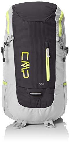 CMP Unisex Adult Hayabusa 30L Backpack Rucksack, Ice-Anthracite, U