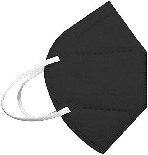 MaNMaNing Infantil Protección 20-100 Unidades con Elástico para Los Oídos 20210121-MANIN-K009 (Negro 20PC)