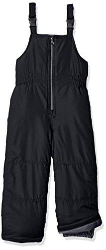 Carter's Boys' Snow Bib Ski Pants Snowsuit (Very Black, 5T)