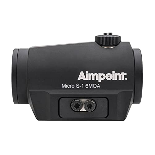 Aimpoint Micro S1 6 Moa Punto de Mira, Unisex Adulto, Negro, Talla Única