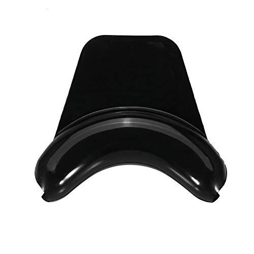 Zerone - Soporte de silicona suave para el cuello para champú, cuenco, salón de spa, lavabo, ventosa