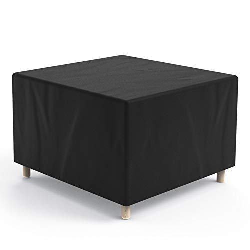 Hongtellor Garden Furniture Cover Protective Cover for Garden Furniture Garden Table Furniture Sets Waterproof Dustproof Anti-UV 420D Oxford (200 x 160 x 70 cm) Black