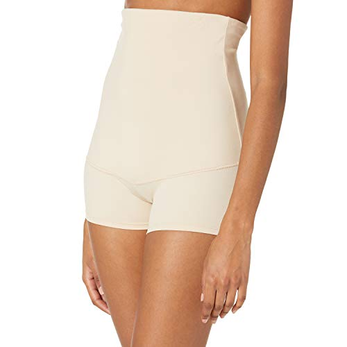 Maidenform Flexees Women's Shapewear Minimizing Hi-Waist Boyshort , Latte Lift, XX-Large