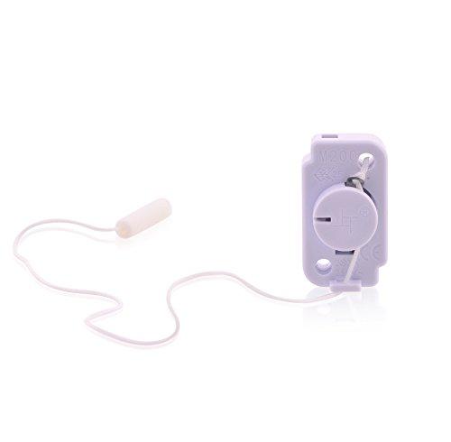 intratec Interruptor de luz lámpara Interruptor con cuerda 3A 125VL, T85/55Interruptor entre Interruptor Interruptor en color blanco