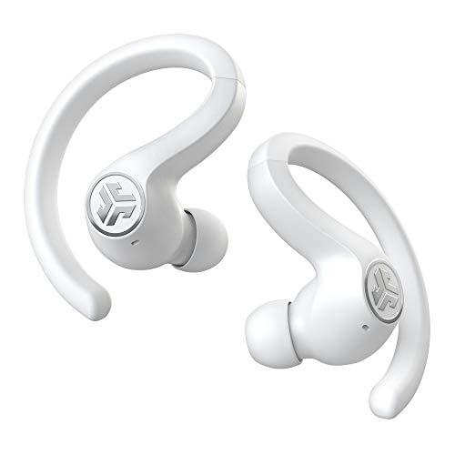 Jlab Audio Jbuds Air Sport Auriculares Inalambricos Bluetooth - True Wireless Y Caja De Carga USB, Be Aware Audio, Ip55 A Prueba De Sudor Y Sonido Eq3 Personalizado (Blanco)