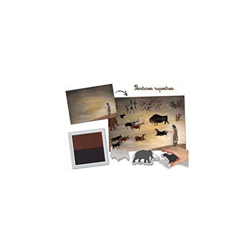 Kit de soporte para 20 hojas «pinturas rupestres»