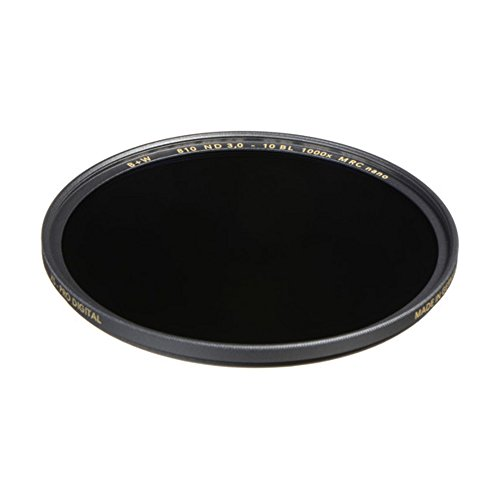 B+W 1089252 Graufilter ND1000 82mm, MRC Nano, XS-Pro, 16x vergütet, Slim, Premium matt-schwarz