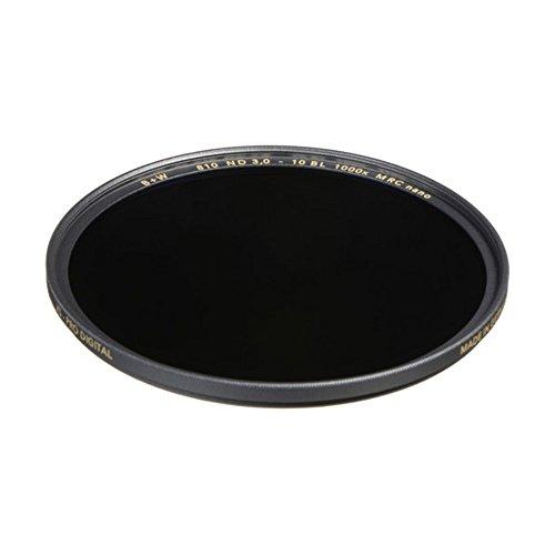 B+W 1089251 Graufilter ND1000 77mm, MRC Nano, XS-Pro, 16x vergütet, Slim, Premium matt-schwarz