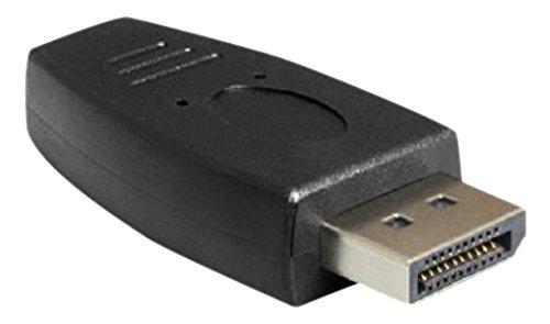 DeLock Adapter Displayport Stecker auf DisplayPort Mini Buchse Schwarz