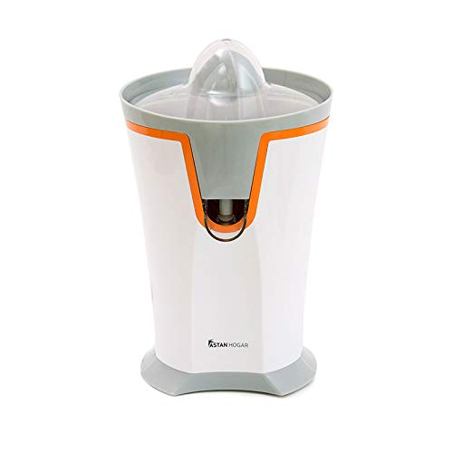 Astan Hogar automático Exprimidor Eléctrico Jugix AH-KC6040, 40 W, Plástico, Blanco/naranja