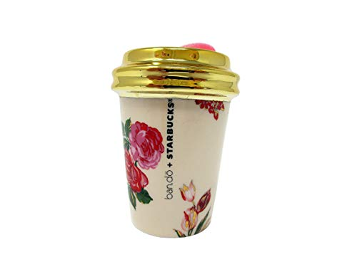 Starbucks Ban.do 2018 Floral Holiday Ornament