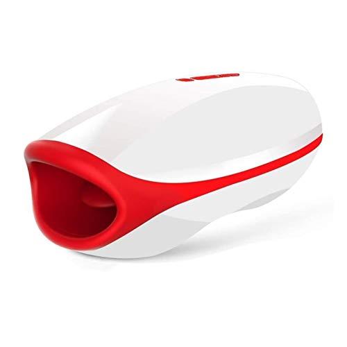Heizung Oral Mulit Geschwindigkeiten V-I-bRating Male M-ásturbátor Elektro lecken saugen Automatische Oral Wasserdicht Maschine Spielzeug for Mann-T-Shirt XM1209-73-96-26
