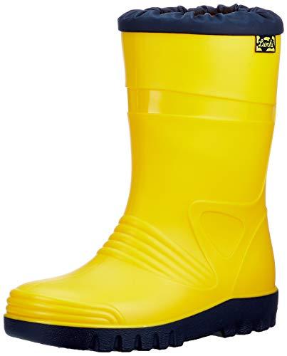 Lurchi Jungen Mädchen PAXO Gummistiefel, Yellow, 24 EU