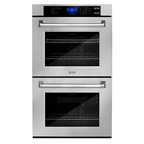 ZLINE 30 in. Professional Double Wall Oven in Stainless Steel (AWD-30)