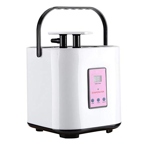 Sauna Steamer, 2 Liter Portable Sauna Steamer Portable Pot Machine Home Spa Machine with 9 Temperature & Remote Controller for Body Detox Weight Loss(110V)