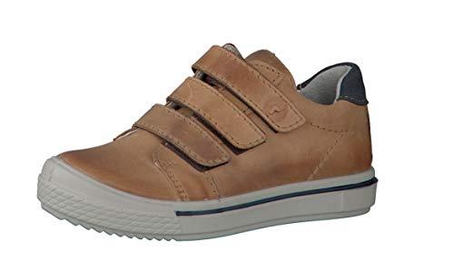 RICOSTA Jungen Sneaker JOKO 5620700, Kinder High-Top Sneaker,Sportschuh,Schnürschuh,Sneaker-Stiefel,mid Cut,Cognac,34 EU