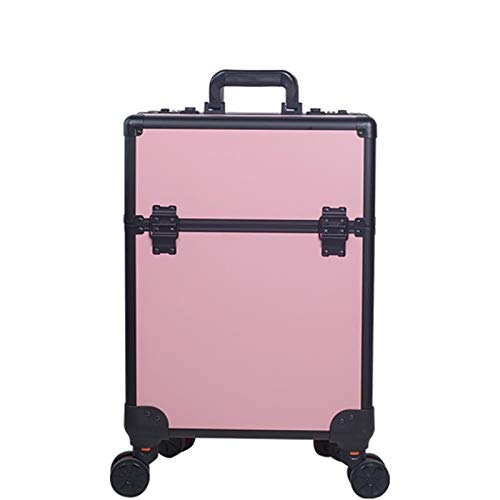 Trolley Makeup Case With Makeup Artist Large-capacity Home With Makeup Hairdressing Tattoo Tool Box, Beauty Studio, Professional Makeup Artist Powder