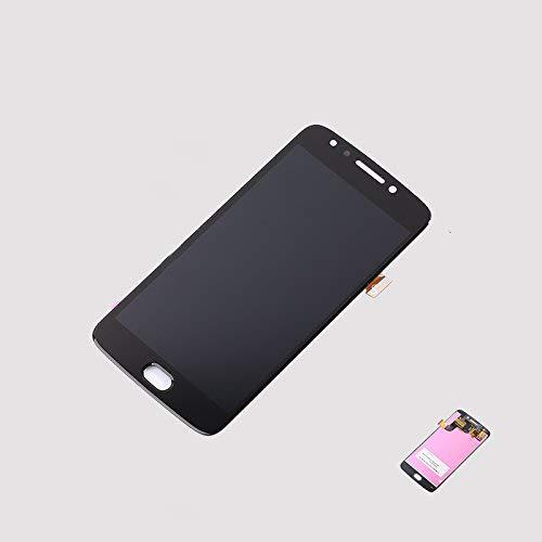 Assembly Replacement for Motorola Moto E4 XT1767 XLTE XT1767PP XT1768 EGen 4 Full LCD Replacement Display Touch Screen Digitizer (Black)
