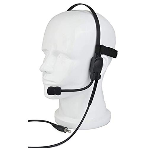 GODNECE Headset Airsoft, Kopfhörer Taktisch Headset Ztac MH180-V Headset Militär Kopfhörer Z136