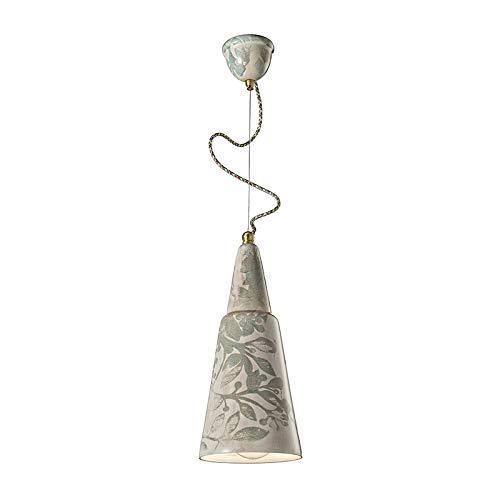 Suspensión C1411 Vague-Vintage Collectionn 1 luz acabado Autumn Ferroluce
