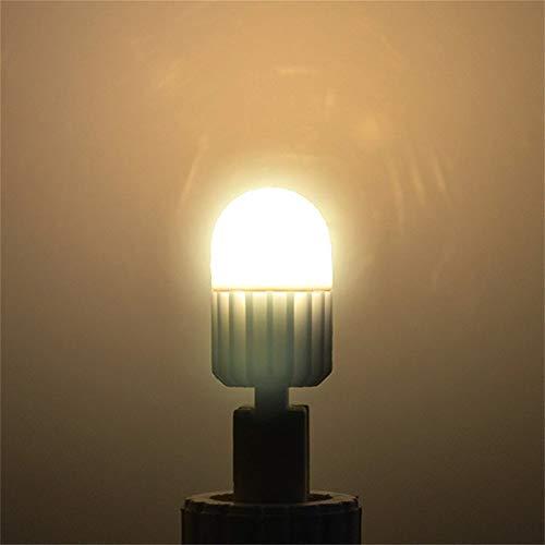 G9 Lámpara LED 220V 7W Luz LED Cerámica Cristal de alta potencia Luces de araña Iluminación de 360 grados Bombilla LED G9 Sin soporte Dimmer 6pcs, blanco cálido