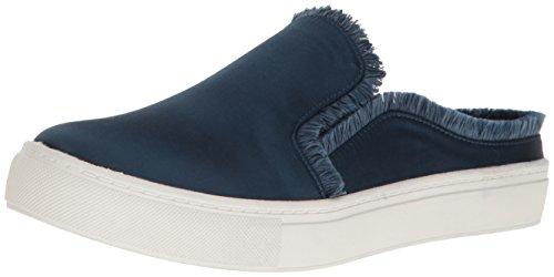 Dirty Laundry by Chinese Laundry Women's Jaxon Fashion Sneaker, Navy Satin, 6.5 M US