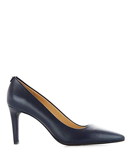 Michael Kors Luxury Fashion Damen 40F6DOMP1L414 Blau Leder Pumps | Jahreszeit Permanent