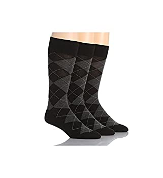 Polo Ralph Lauren 3-Pack Classic Argyle Cotton Blend with Polo Logo Knit In On Sole Black Men s 10-13