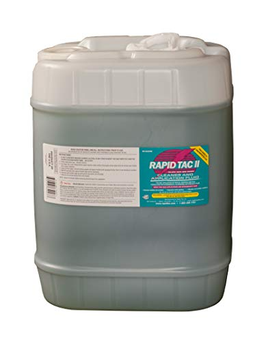 Rapid Tac II Decal Application Fluid for Glass and Cold Weather Intermediate and Specialty Films (5 Gallon Jug (640 oz))